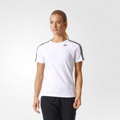 Camiseta Adidas D2M 3 Bandas Woman BK2686