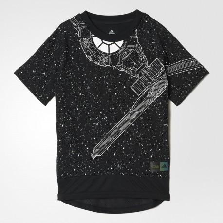Camiseta Adidas Star Wars Junior BK1082