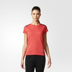 Camiseta Adidas Essentials 3S Slim Woman S97184