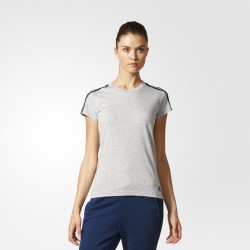 Camiseta Adidas Essentials 3S Slim Woman S97186