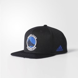 Gorra Adidas NBA Warriors Flat BK3046
