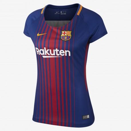 Camiseta Nike FC Barcelona 17-18 Stadium Home Woman 847226 459