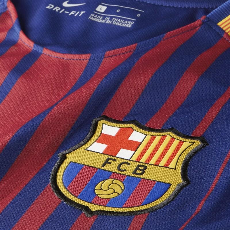 Camiseta Nike FC Barcelona 17-18 Stadium Home 847255 456 - Deportes ... 85b4d8d865b