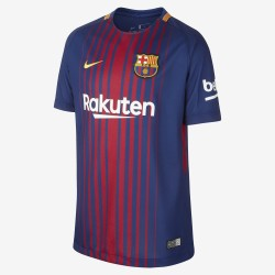 Camiseta Nike FC Barcelona 17-18 Stadium Home Junior 847387 456