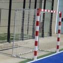 Juego Porterías (2) Balonmano / Futbol sala Metalica Trasladable H0004