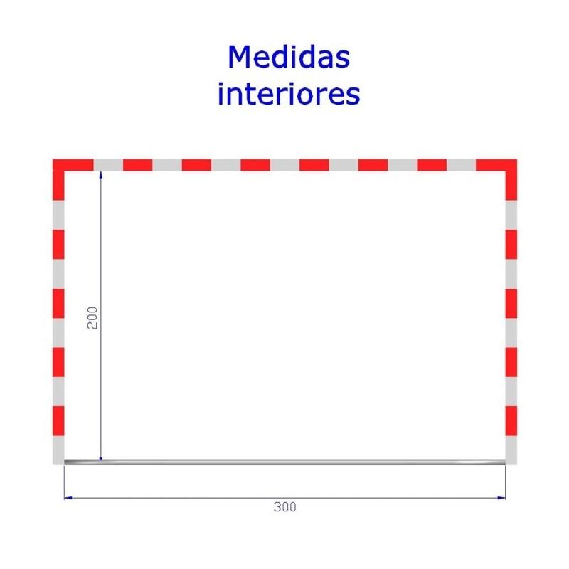 Medidas pista futbol sala awesome medidas de la portera for Pista de futbol sala medidas