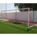 Juego Porterías (2) Fútbol 11 Aluminio F0002 Trasladable