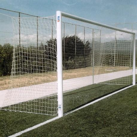 Juego Porterías (2) Fútbol 7 Aluminio F0010 + 4 Cajetines + 4 Arquillos + Base abatible