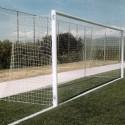 Juego Porterías (2) Fútbol 7 Aluminio F0010 + 4 Cajetines + 4 Arquillos + 2 Bases abatibles