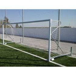 Juego Porterías RTM Sports Fútbol 7 Aluminio Abatible Lateralmente F0012