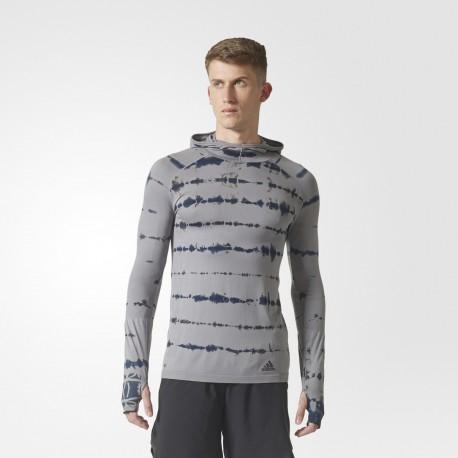 Camiseta Adidas Primaknit con capucha BQ9389