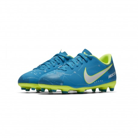 Bota Fútbol Nike JR Mercurial Vortex III Neymar FG 921490 400