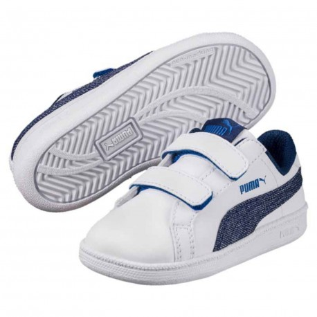 Zapatillas Puma Smash Denim FS V PS 363995 01