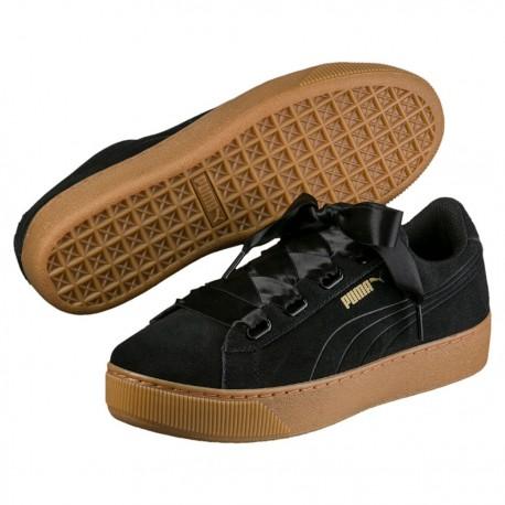 envío gratis zapatos de separación llega Zapatillas Puma Vikky Platform Ribbon 364979 01 - Deportes Manzanedo