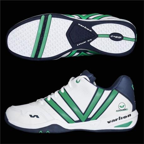 Zapatillas Varlion Padel V-Advanced Hombre verde blanco