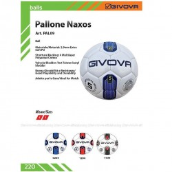 10 Balones Futbol Givova Naxos