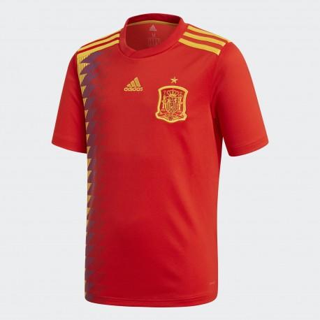 Camiseta Adidas Selección Española Junior 17-18 Local BR2713