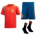 Conjunto Mini Adidas Selección Española 2018 Local BQ8864