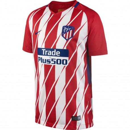 Camiseta Nike Atletico de Madrid 17-18 Stadium Home Junior 847374 612