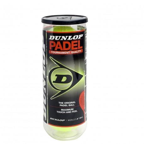 Pelotas Padel Dunlop pet b.3 caja 24/el bote sale a 3.55