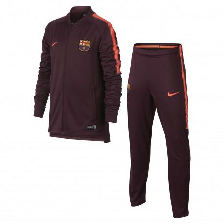 Chandal Nike FC Barcelona 17-18 Dry Squad Junior 854446 685