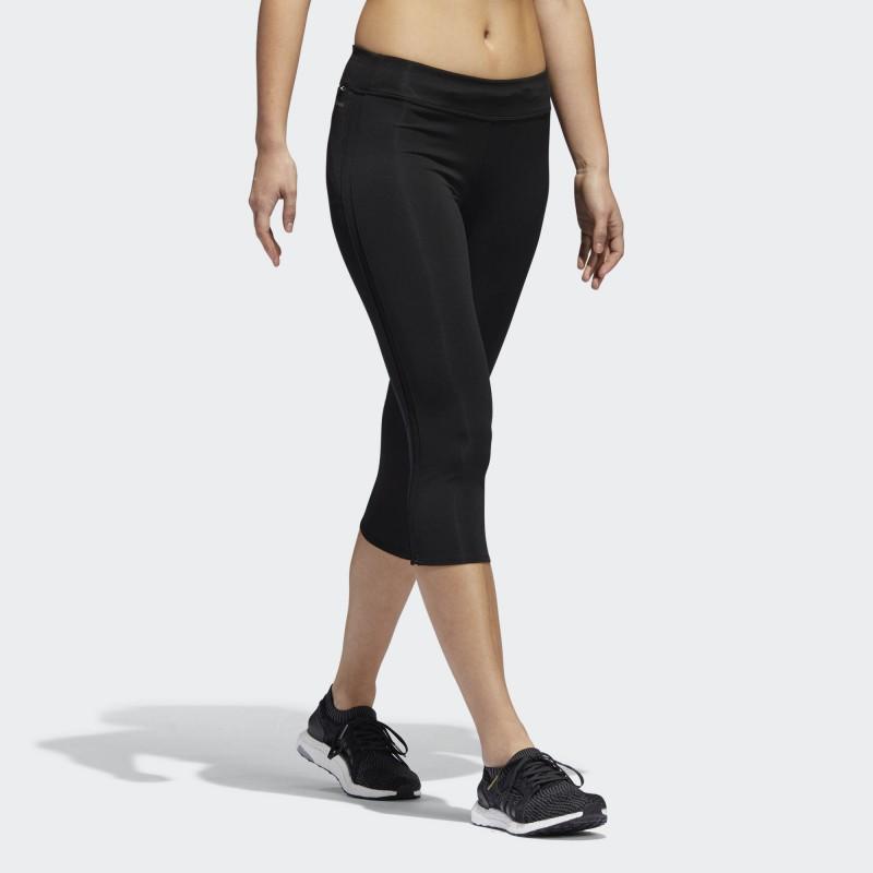 mallas negra adidas mujer
