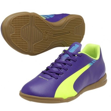 Zapatillas Futbol Sala Puma evoSPEED 5.3 JR 103127 01