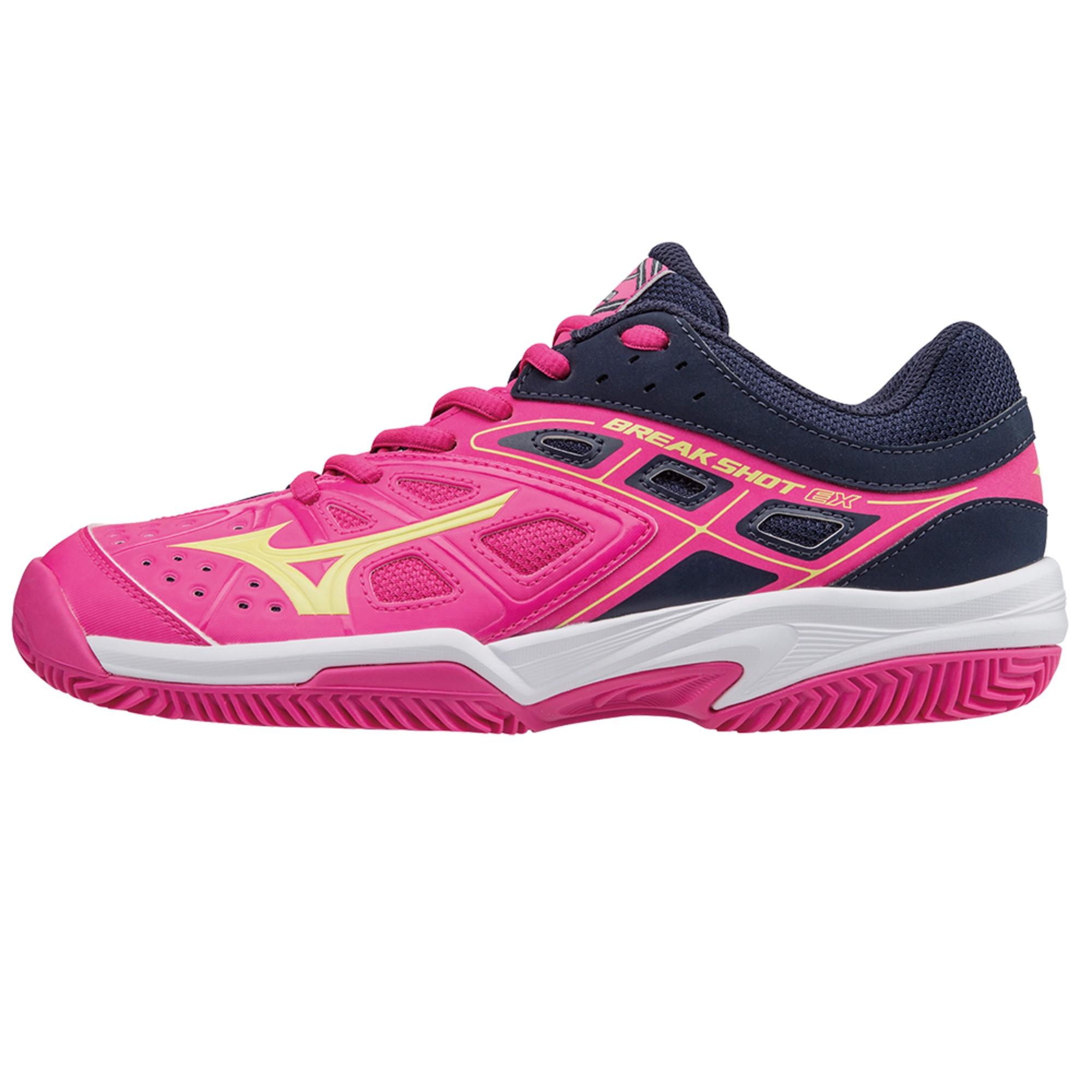 zapatillas mizuno para padel rosa