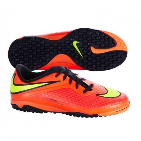8e194641539f9 Zapatillas Fútbol Nike JR HyperVenom Phelon TF 599847 690 - Deportes ...