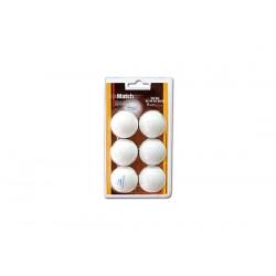 Pelotas Ping Pong NB Match blister6