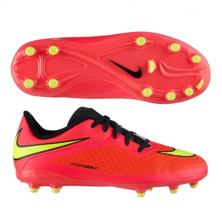 Bota Fútbol Nike HyperVenom Phelon 599062 690 JR