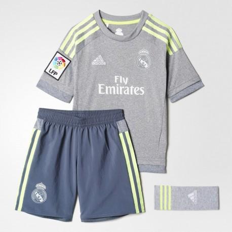 Conjunto Mini Adidas Real Madrid 15-16 Visitante S12624