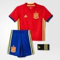 Conjunto Mini Adidas Selección Española Eurocopa 2016 AA0824