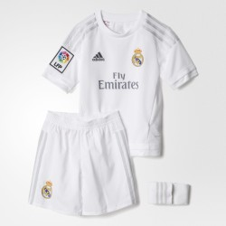 Equipación niño Adidas Real Madrid 15-16 Local S12662