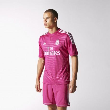 Camiseta Adidas Real Madrid Temporada 14-15 Rosa M37315