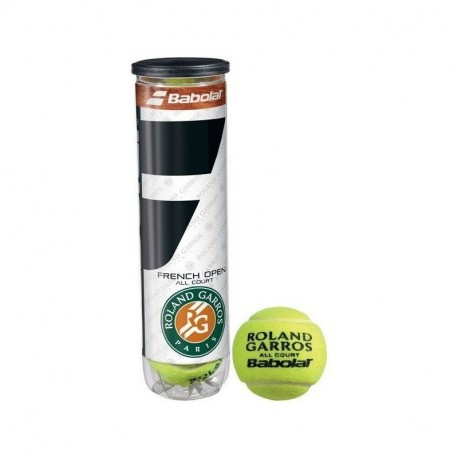 Bote Pelotas Babolat Tenis French Open All Court (3 ud)