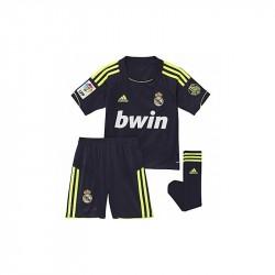 Equipación niño Adidas Real Madrid 12-13 Visitante W41912