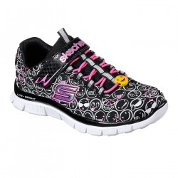 Zapatillas Skechers Skech Appeal - Happy Prance 81809L BKWP