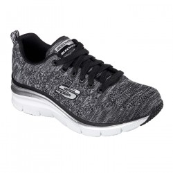 Zapatillas Skechers Fashion Fit - Style Chic 12703 BKW