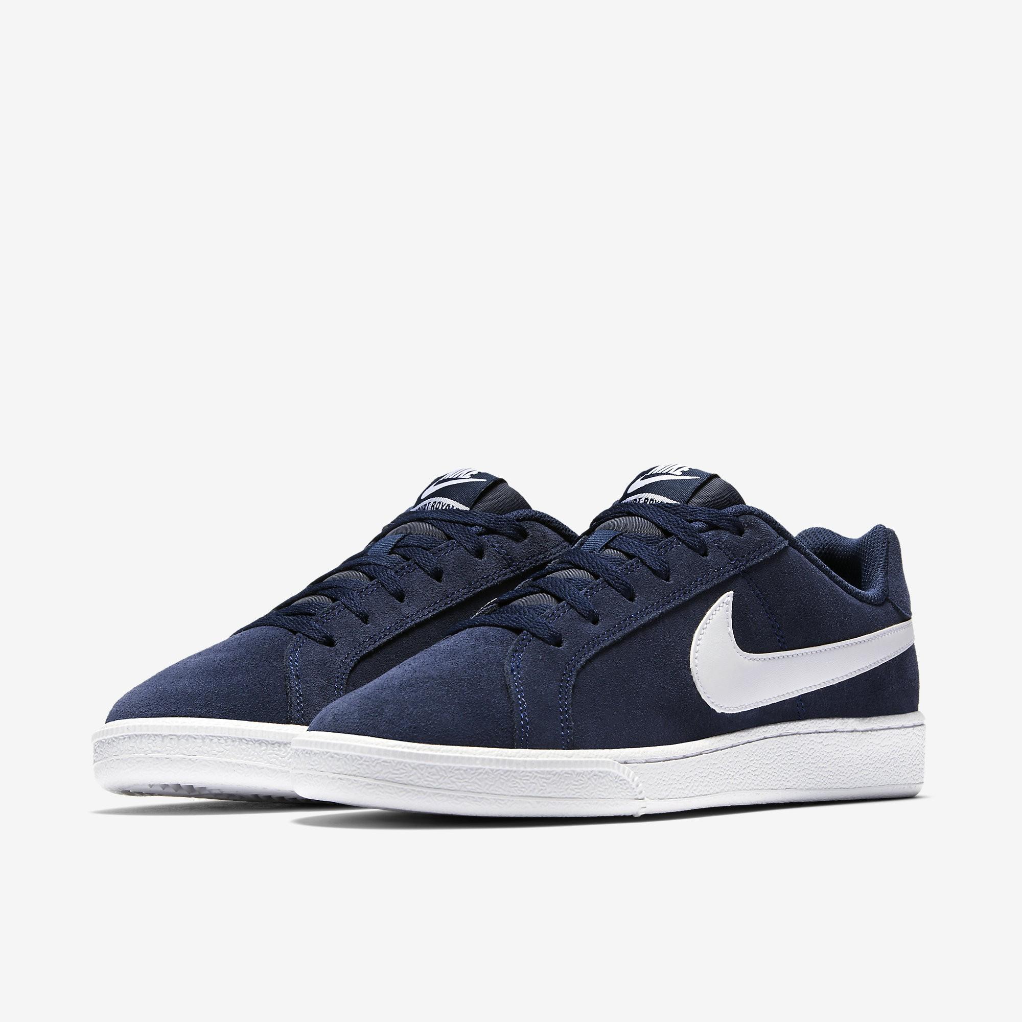 Zapatillas Tenis Nike Court Royale Suede 819802 410 BLACK