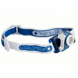 Frontal LED LENSER SEO 7R azul