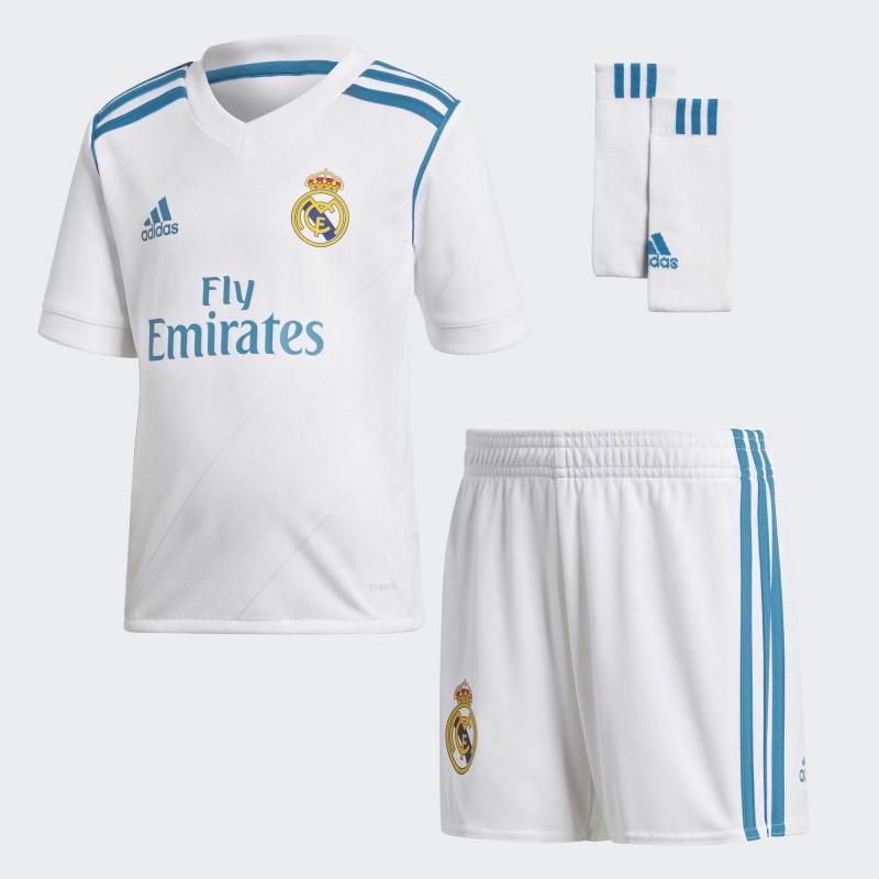 Conjunto adidas Real Madrid 17-18 Local B31114 - Deportes Manzanedo f3332761e233a