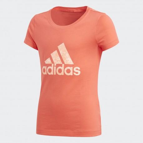 Camiseta Adidas YG Logo Tee CF7255