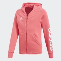 Sudadera Adidas YG Linear Fz Hd CF7289