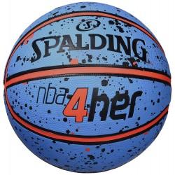 Balón Spalding NBA 4her Splatter 3001596011616
