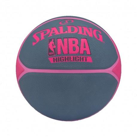 Balón Basket Spalding NBA Highlight 4her 3001550029816
