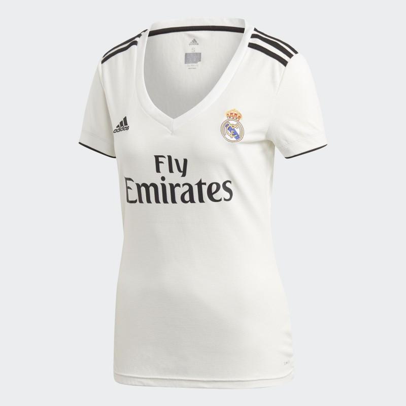 Camiseta adidas Real Madrid 18-19 Local Mujer CG0545 ...