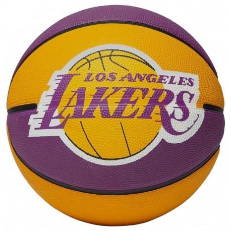 Balón Basket Spalding NBA Los Angeles Lakers 300158701061 - Deportes ... fb065e29cf0db