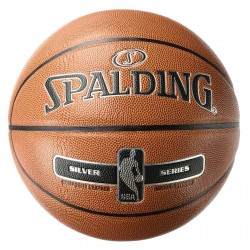 Balón Basket Spalding NBA Silver In/Out 300159502001