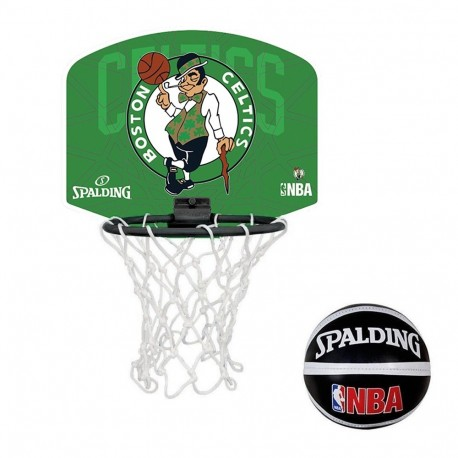 Mini Canasta Spalding NBA Boston Celtics 300158801161